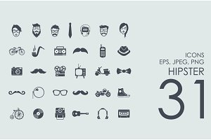 31 hipster icons