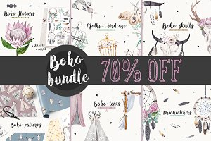 BOHO BUNDLE 70% OFF
