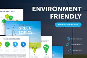 Environment Friendly Keynote