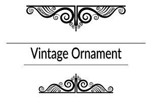 Vintage Contour Pattern