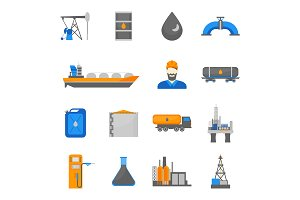 Oil Petroleum Processing Set
