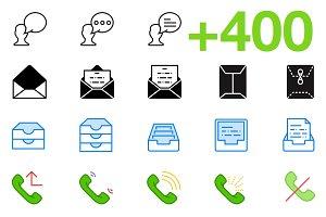 SMASHICONS - 400+ Dialogue Icons -