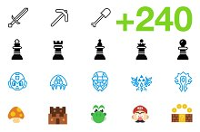 SMASHICONS - 240+ Games Icons -