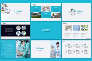 Lively Healthcare PPT Slides
