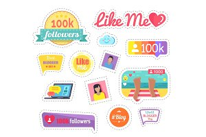 Like Me Social Networks Laptop