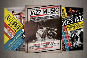 Jazz Flyer / Poster Bundle