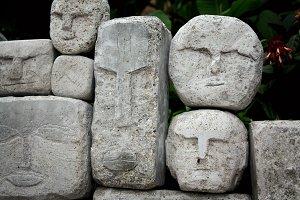 Tiki faces