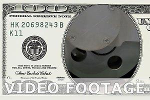 Crank drive gear wheel in 100 dollar