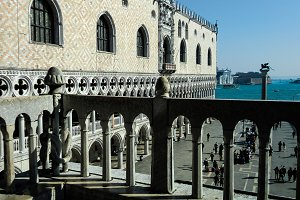 View of Piazza San Marco in Venice f