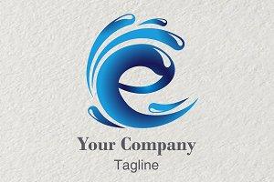3D Logo Letter E Energy