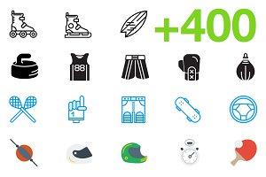 SMASHICONS - 400+ Sports Icons -
