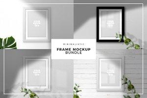 Minimal Frame Mockup Collection