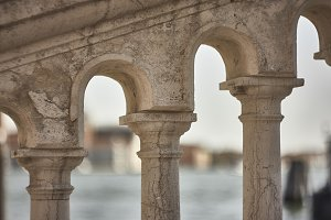 Architectural detail of Venice