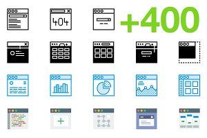 SMASHICONS - 400+ U.I Icons -