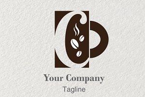 Logo Letter C Coffee Shop