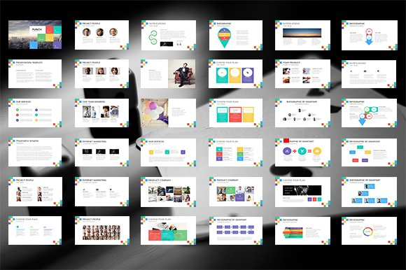 Punch PowerPoint Template