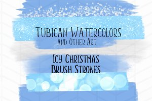 8 Brush Strokes for an Icy Christmas