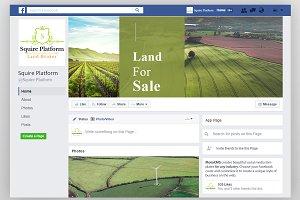 Land Broker Facebook Timeline Cover