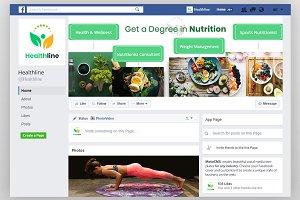 Nutrition Timeline Facebook Cover