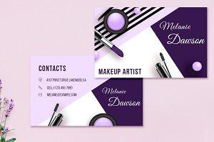 Makeup Business Card