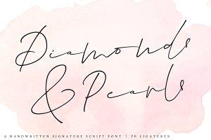 Diamonds & Pearls | Signature Script