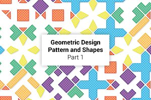 Geometric Patterns and Shapes Part 1