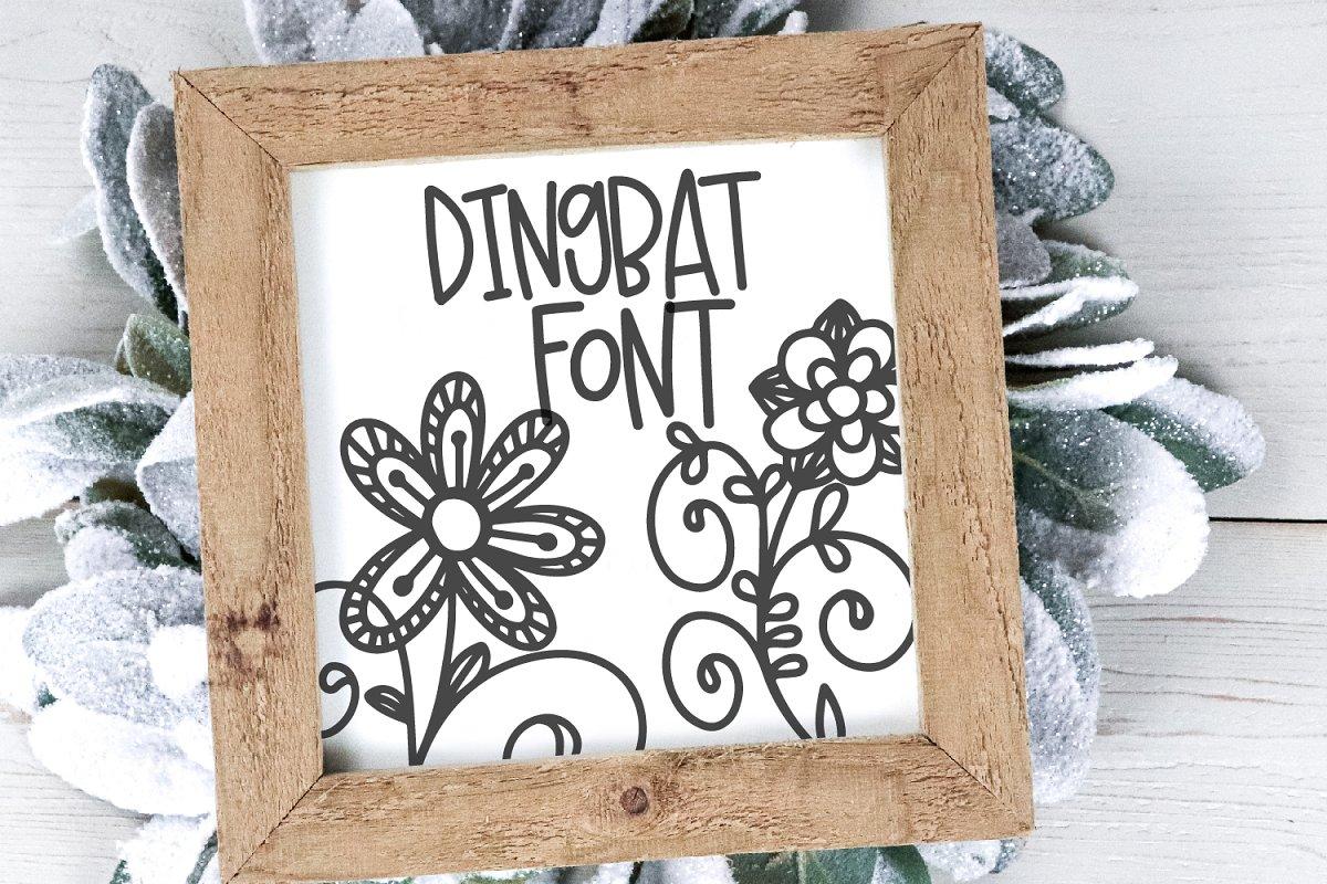 Doodle Bug - A Dingbat Font Duo