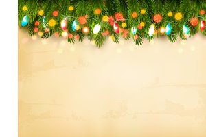 Christmas holiday decoration. Vector