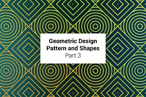 Geometric Patterns and Shapes Part 3