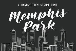Memphis Park Script Font