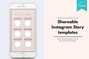 Instagram Story Templates Canva