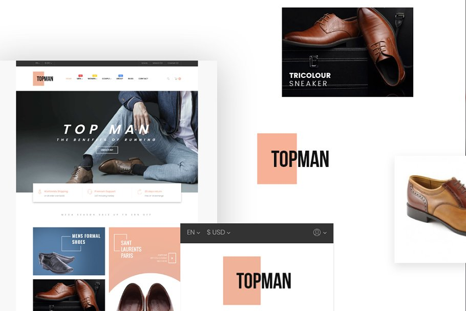 LEO TOPMAN - MEN SHOES AND FASHION