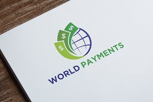 World Payment Logo Template