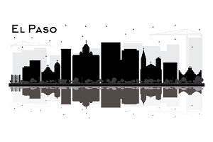 El Paso Texas City Skyline
