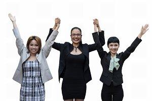 Three business woman