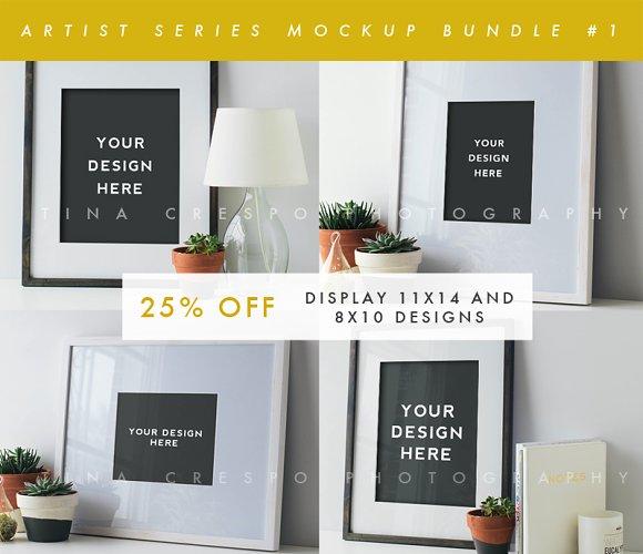 Download Artist Series Mockup Bundle #1