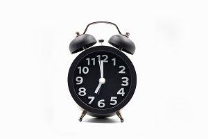 Vintage style alarm clock