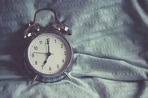Clock on the bedroom
