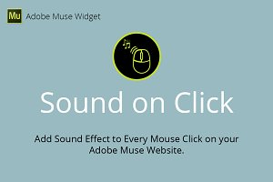 Sound on Click Adobe Muse Widget