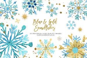 winter snowflakes clip art