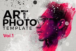 Art Photo Template/Mock-up V.1