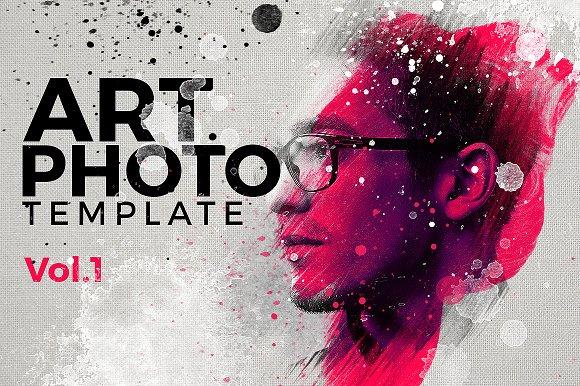 Art Photo Template/Mock-up V.1 - Templates