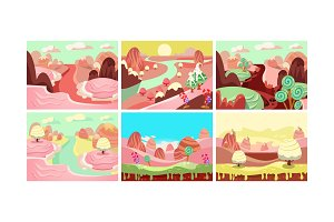 Fairy tale landscape collection