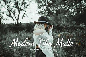 10 Modern Film Matte Presets