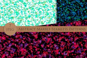 Seamless abstract marble patterns