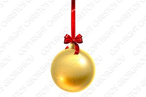 Bauble Christmas Ball Glass Ornament