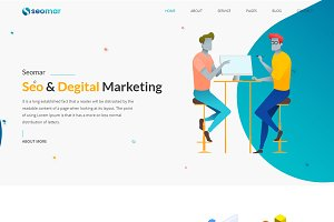 Seomar - SEO Digital Marketing HTML