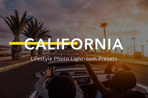 California - Lifestyle LR Presets