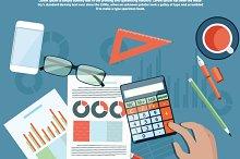 Corporate Finance Concept