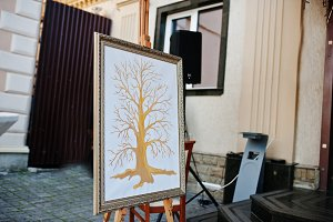 Tree for fingerprints of guests at f